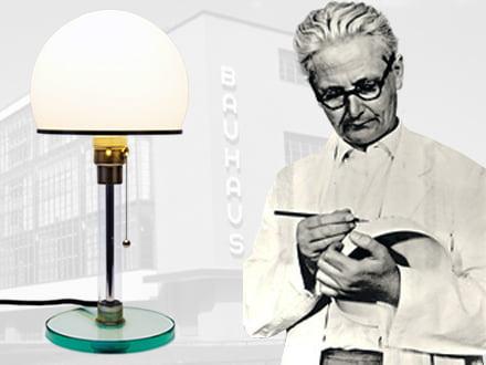 Wilhelm Wagenfeld - Designer der Leuchten WG24, WA24, WG25