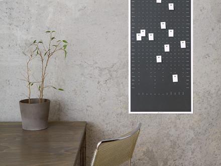 Der DIG Wandkalender erinnert an die wirklich wichtigen Termine im Leben und ist gleichzeitig sehr dekorativ.