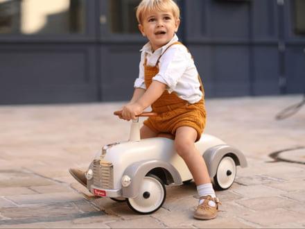 Das Baghera Tretfahrzeug - ein Spass für kleine und grosse Rennfahrer