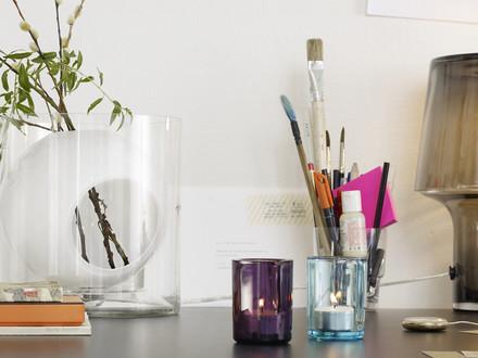 Muuto - Four Blumenvase, opalweiss