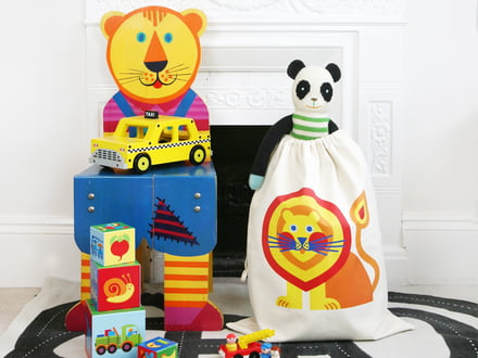 byGraziela - Spielzeugsack, Löwe