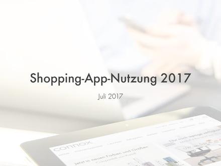 Studie: Shopping-App-Nutzung 2017