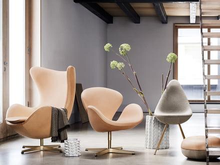 jubil umseditionen von fritz hansen. Black Bedroom Furniture Sets. Home Design Ideas