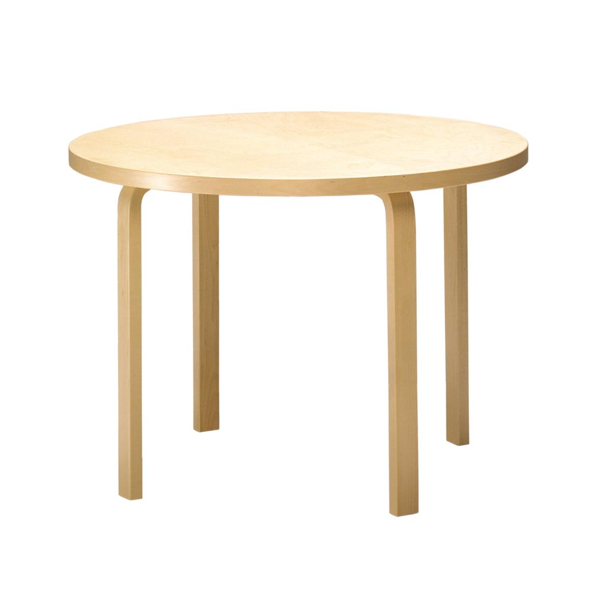 Tisch 90a artek for Tisch design schweiz