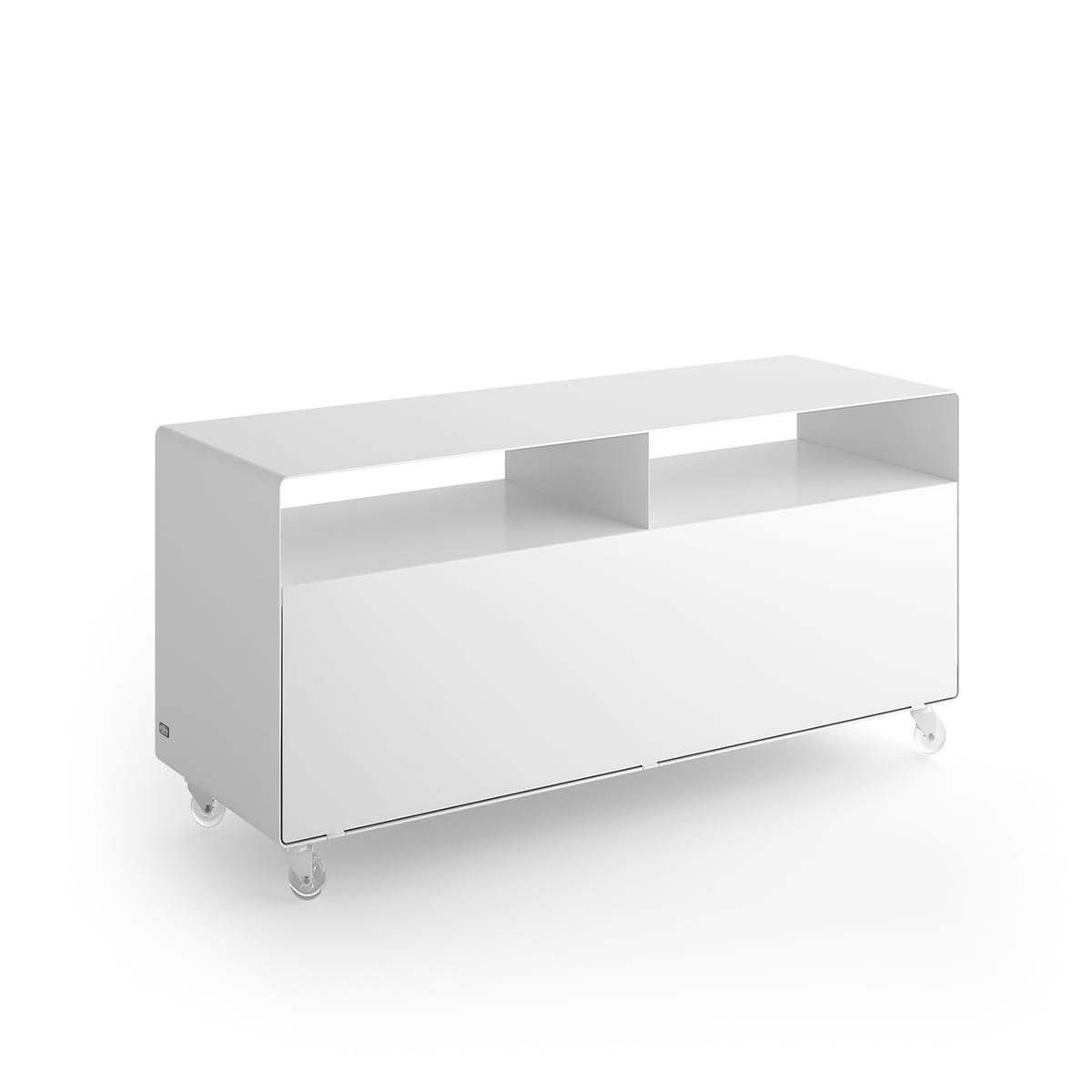 sideboard auf rollen mit tv auslass bei. Black Bedroom Furniture Sets. Home Design Ideas
