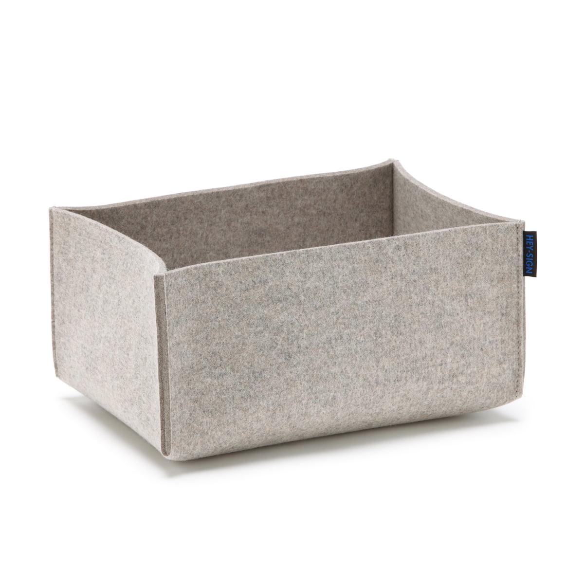 box rechteckig von hey sign bei. Black Bedroom Furniture Sets. Home Design Ideas