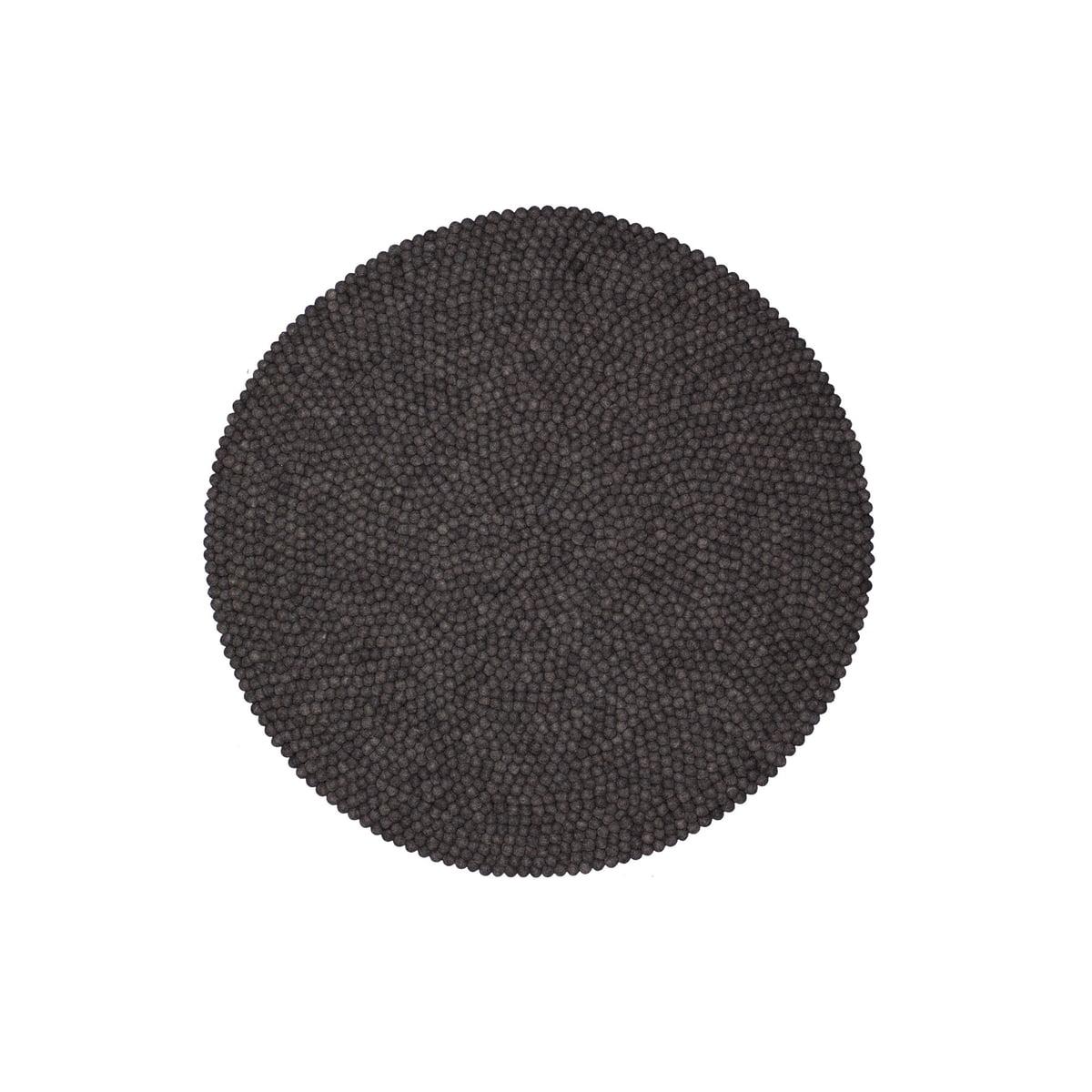 hugo teppich rund von myfelt bei. Black Bedroom Furniture Sets. Home Design Ideas