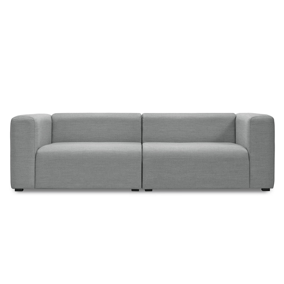 Hay   Mags Sofa Ohne Buttons, 2,5 Sitzer, Surface 120 Hellgrau