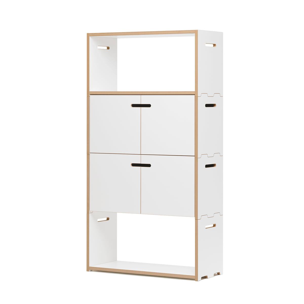 hochstapler regalsystem von tojo bei. Black Bedroom Furniture Sets. Home Design Ideas