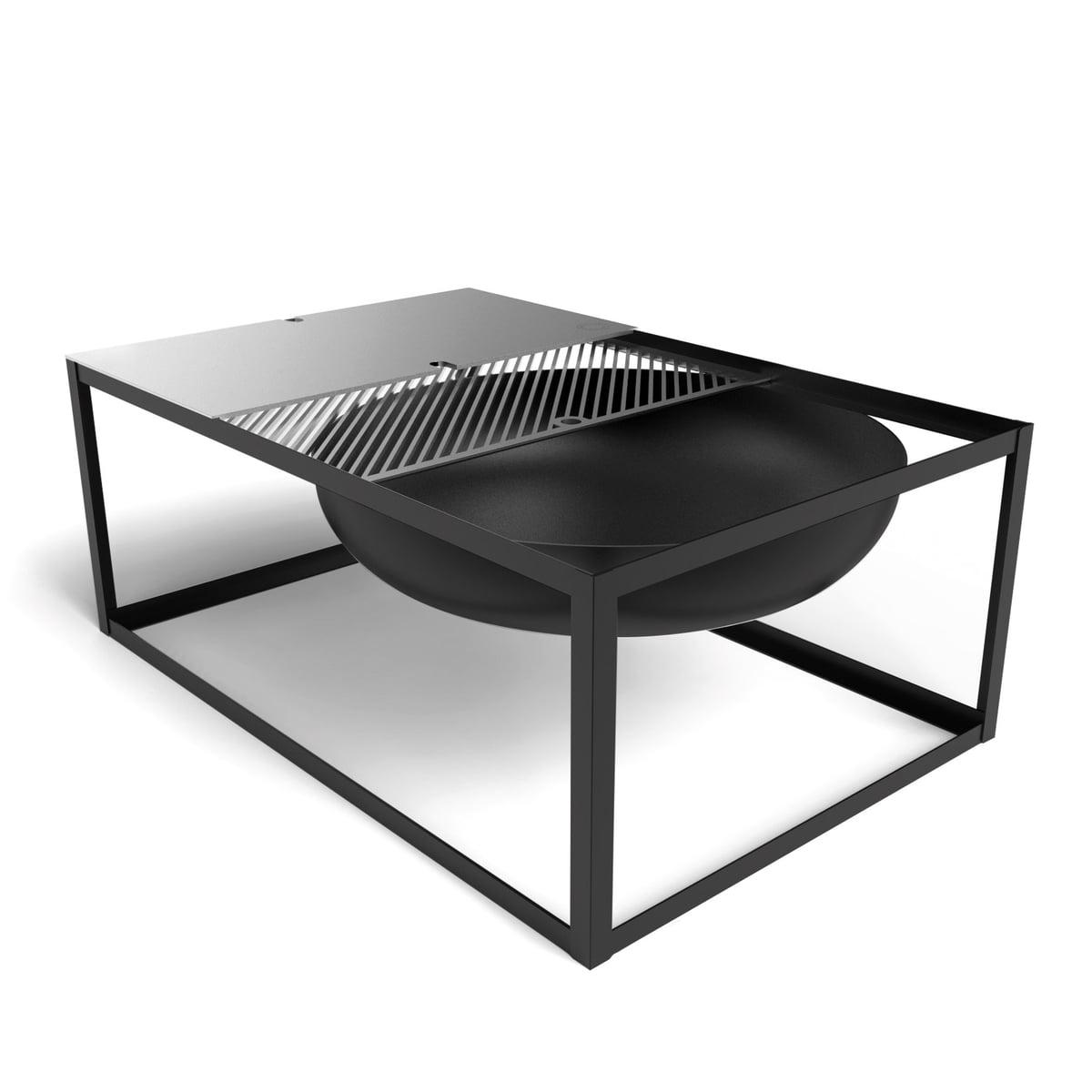 slide feuerschale mit grillfunktion. Black Bedroom Furniture Sets. Home Design Ideas