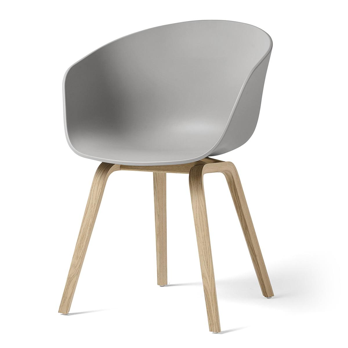 about a chair aac 22 eiche matt lackiert von hay. Black Bedroom Furniture Sets. Home Design Ideas