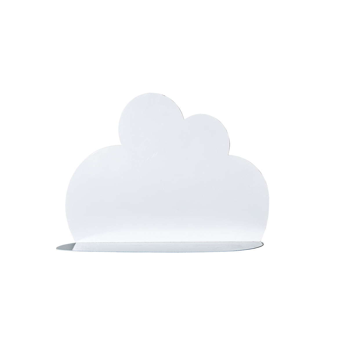 Das Bloomingville   Cloud Shelf In Small, Weiss