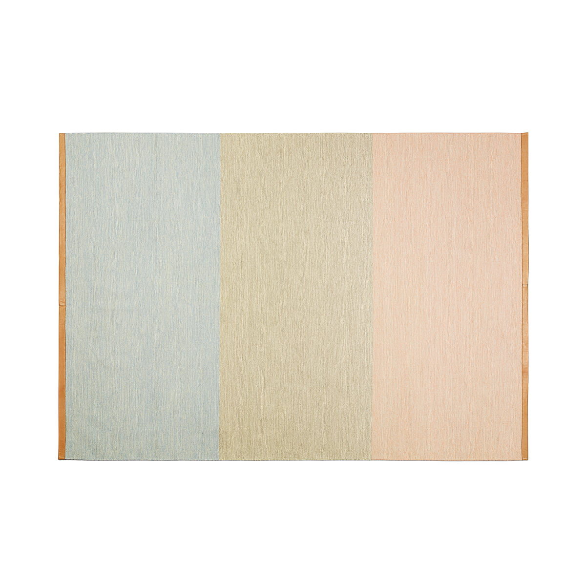 Design House Stockholm   Fields Teppich 170x240 Cm, Rosa / Beige / Blau
