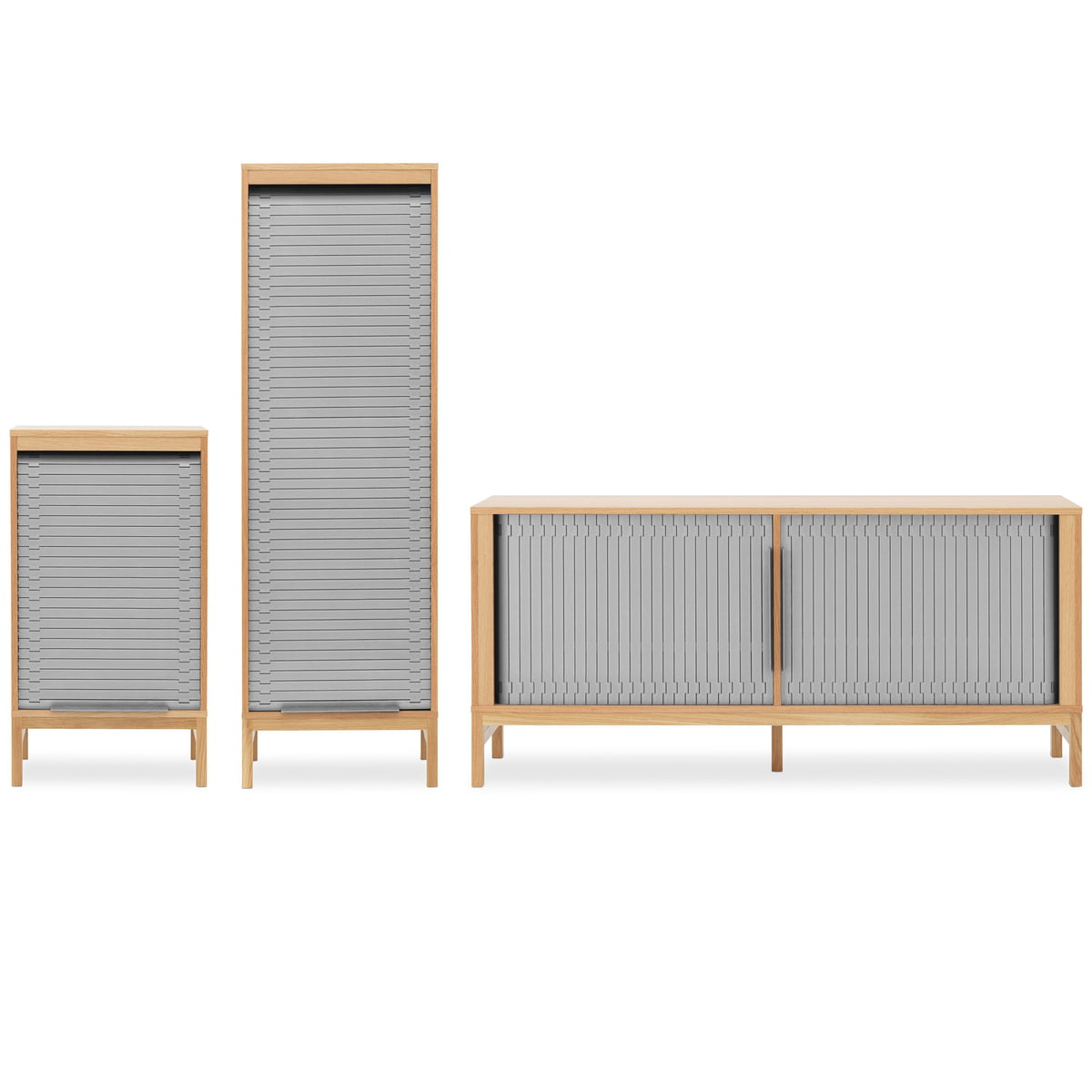 Jalousi sideboard von normann copenhagen for Sideboard niedrig