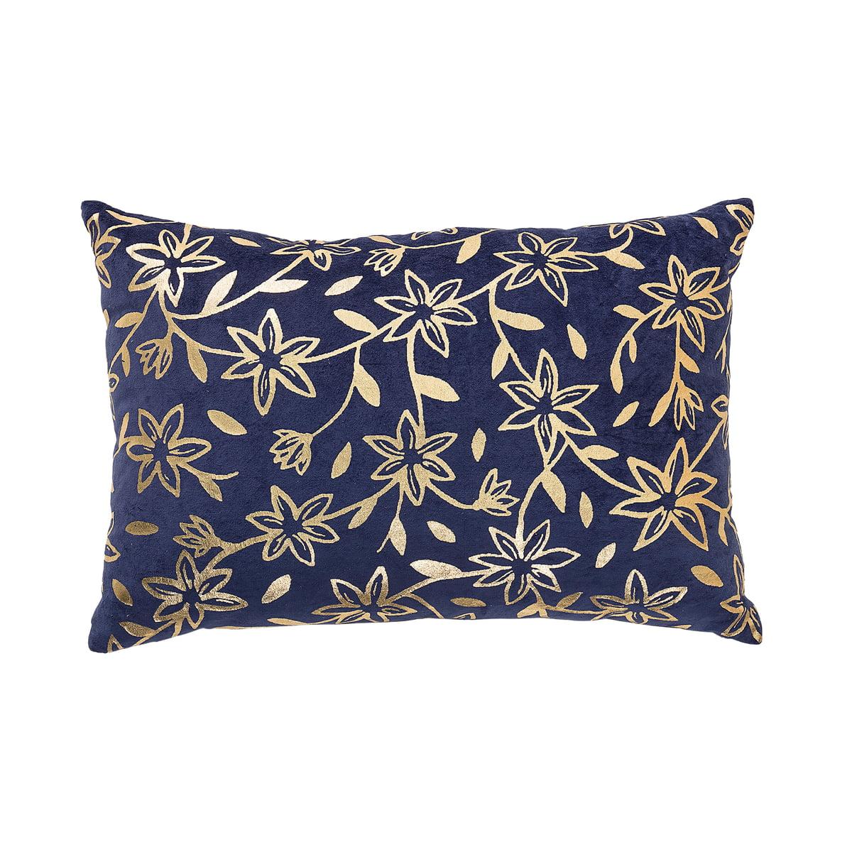 kissen mit golddruck von bloomingville. Black Bedroom Furniture Sets. Home Design Ideas