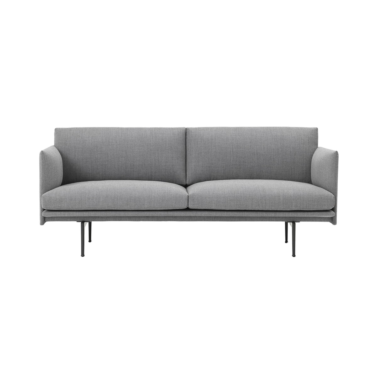 140 cm outline sofa studio muuto connox. Black Bedroom Furniture Sets. Home Design Ideas