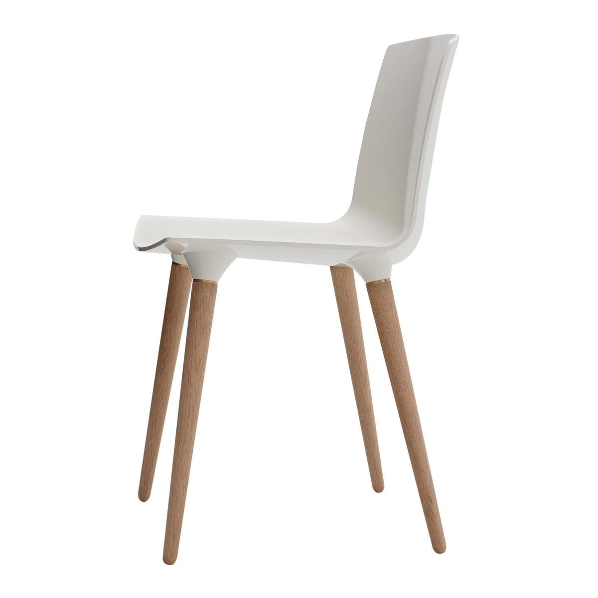 Andersen Furniture Tac Stuhl Eiche Geseift Weiss Ral 9010