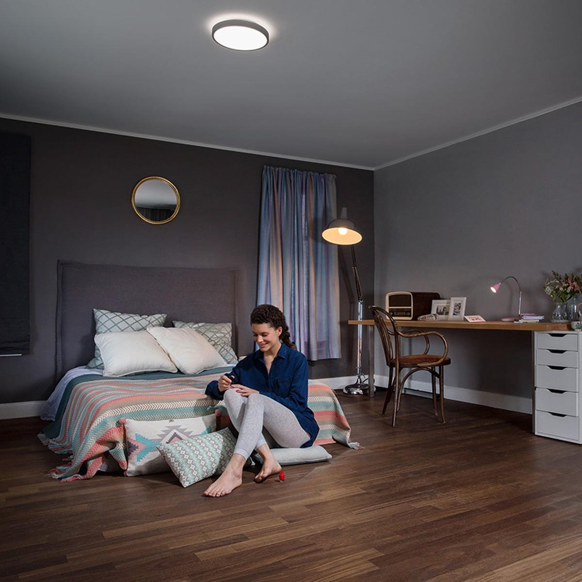 silara led wand und deckenleuchte von osram. Black Bedroom Furniture Sets. Home Design Ideas