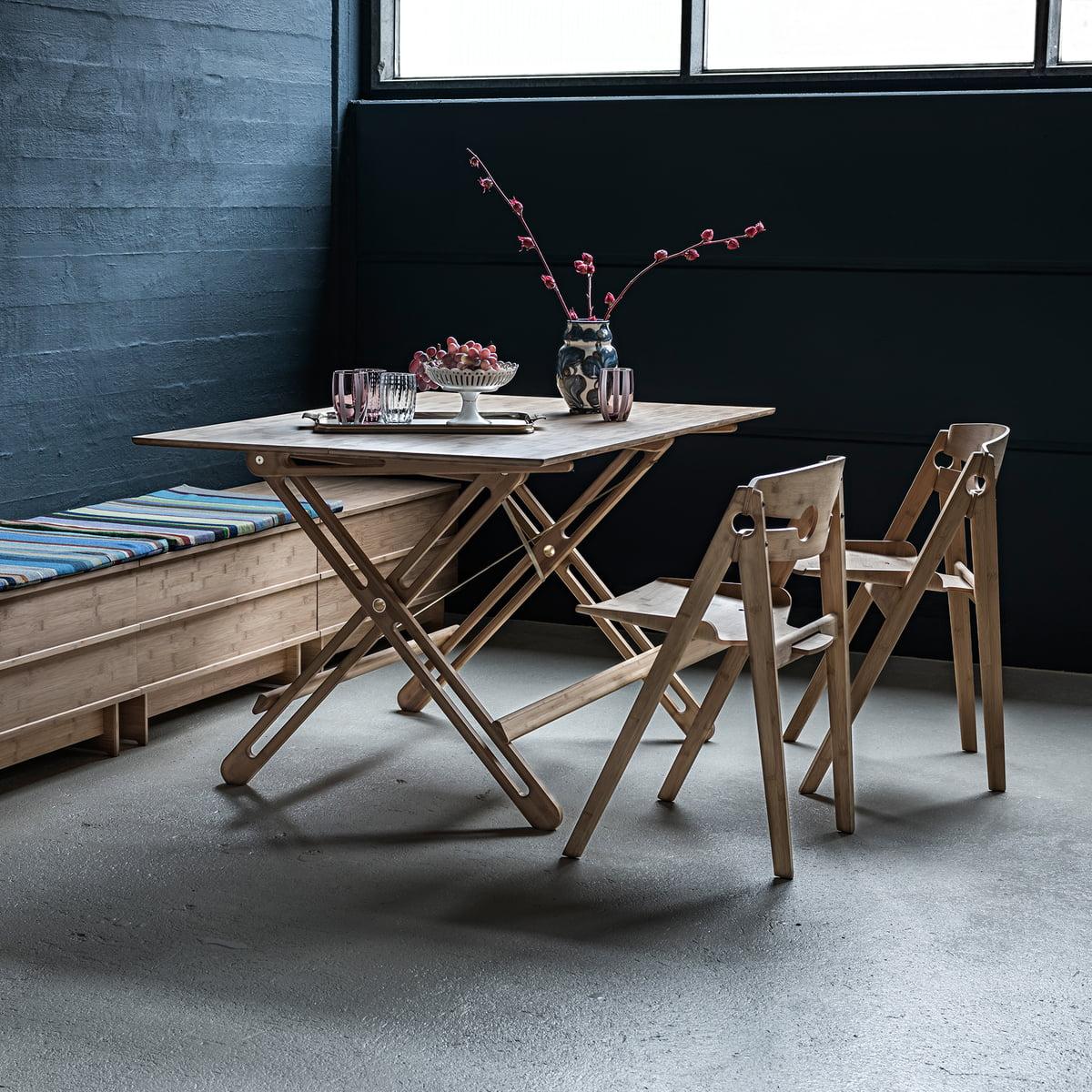 field klapptisch von we do wood. Black Bedroom Furniture Sets. Home Design Ideas