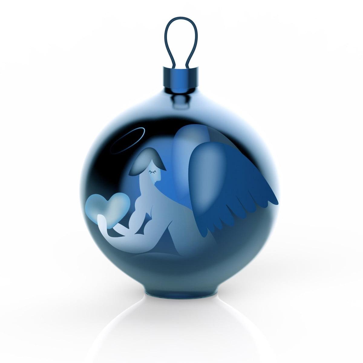 Christbaumkugeln Besondere.Alessi Blue Christmas Christbaumkugeln Engel