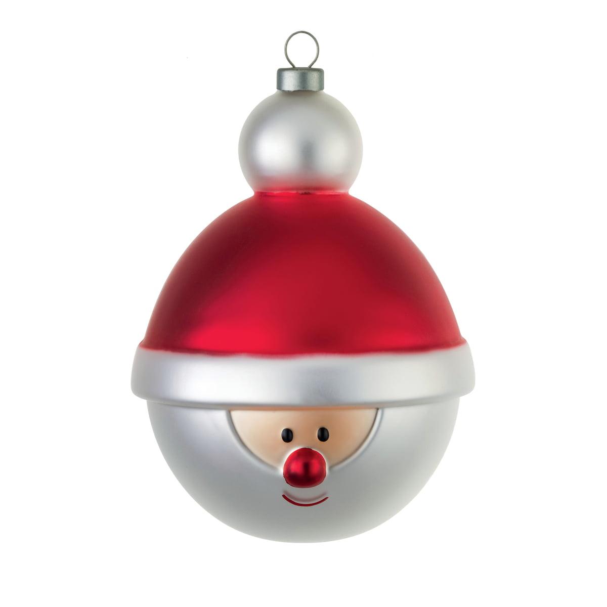 Einzelne Christbaumkugeln.A Di Alessi Christbaumkugel Weihnachtsmann