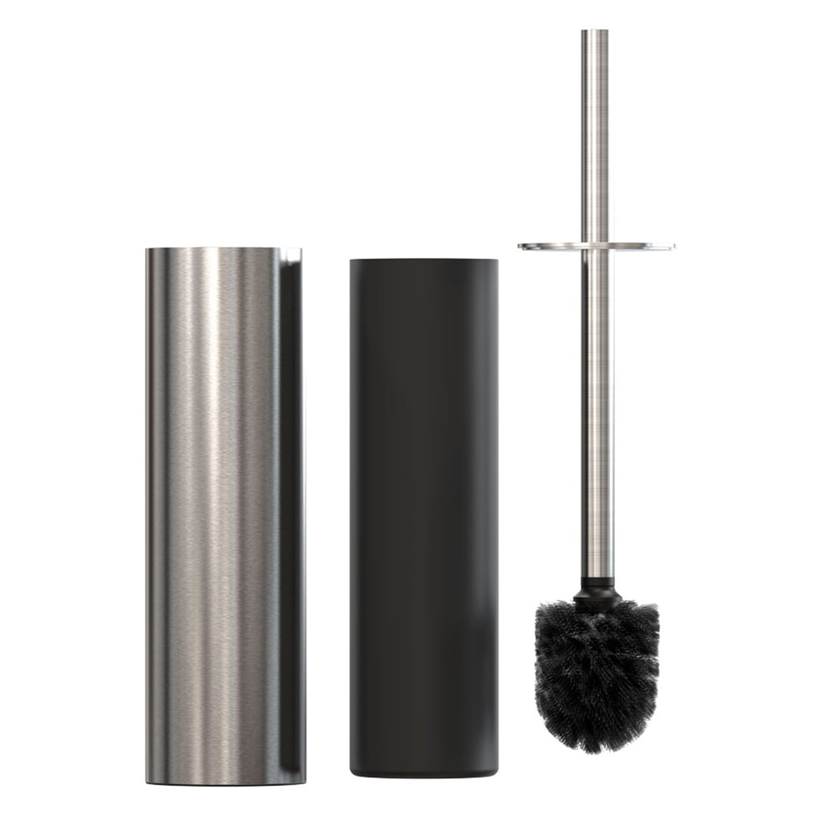 nova 2 toilettenpapierhalter und wc b rste von frost. Black Bedroom Furniture Sets. Home Design Ideas