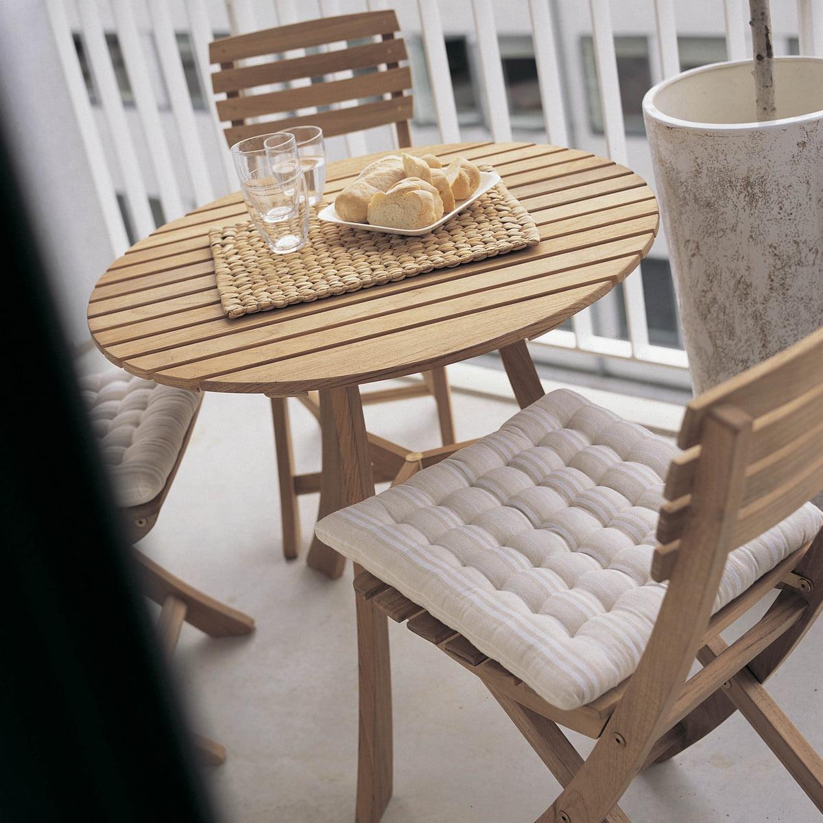 vendia tisch skagerak. Black Bedroom Furniture Sets. Home Design Ideas