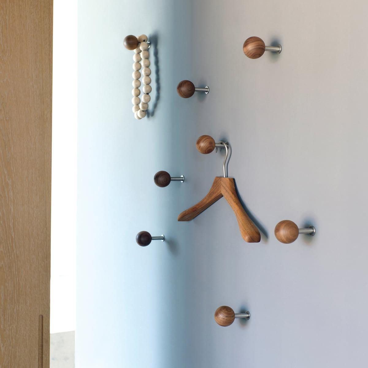 Dots wandhaken sch nbuch for Garderobe dots