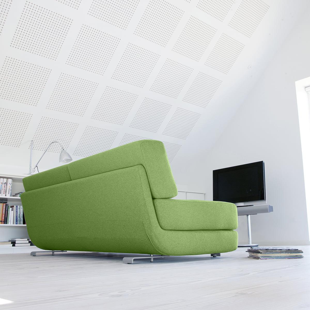 Schlafsofa grün  Lounge 3-er Schlafsofa | Softline | connox.ch