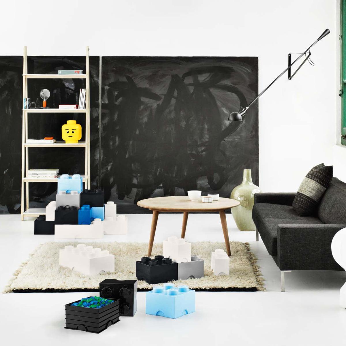 Lego   Storage Box, Blau, Head L