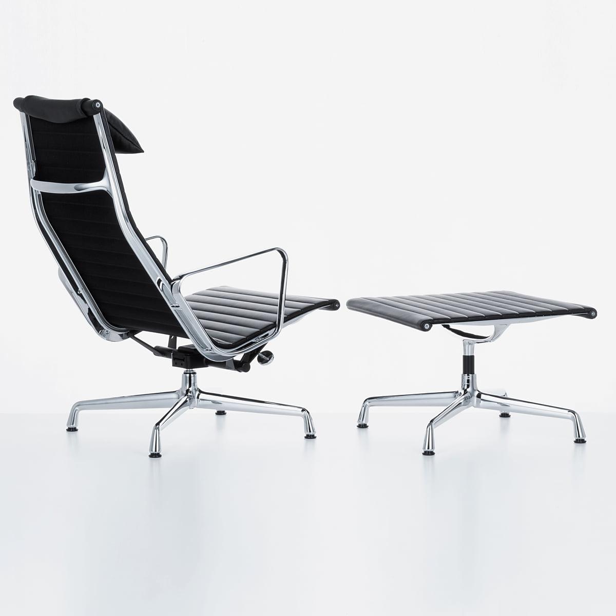 aluminium group ea 124 ea 125 von vitra. Black Bedroom Furniture Sets. Home Design Ideas