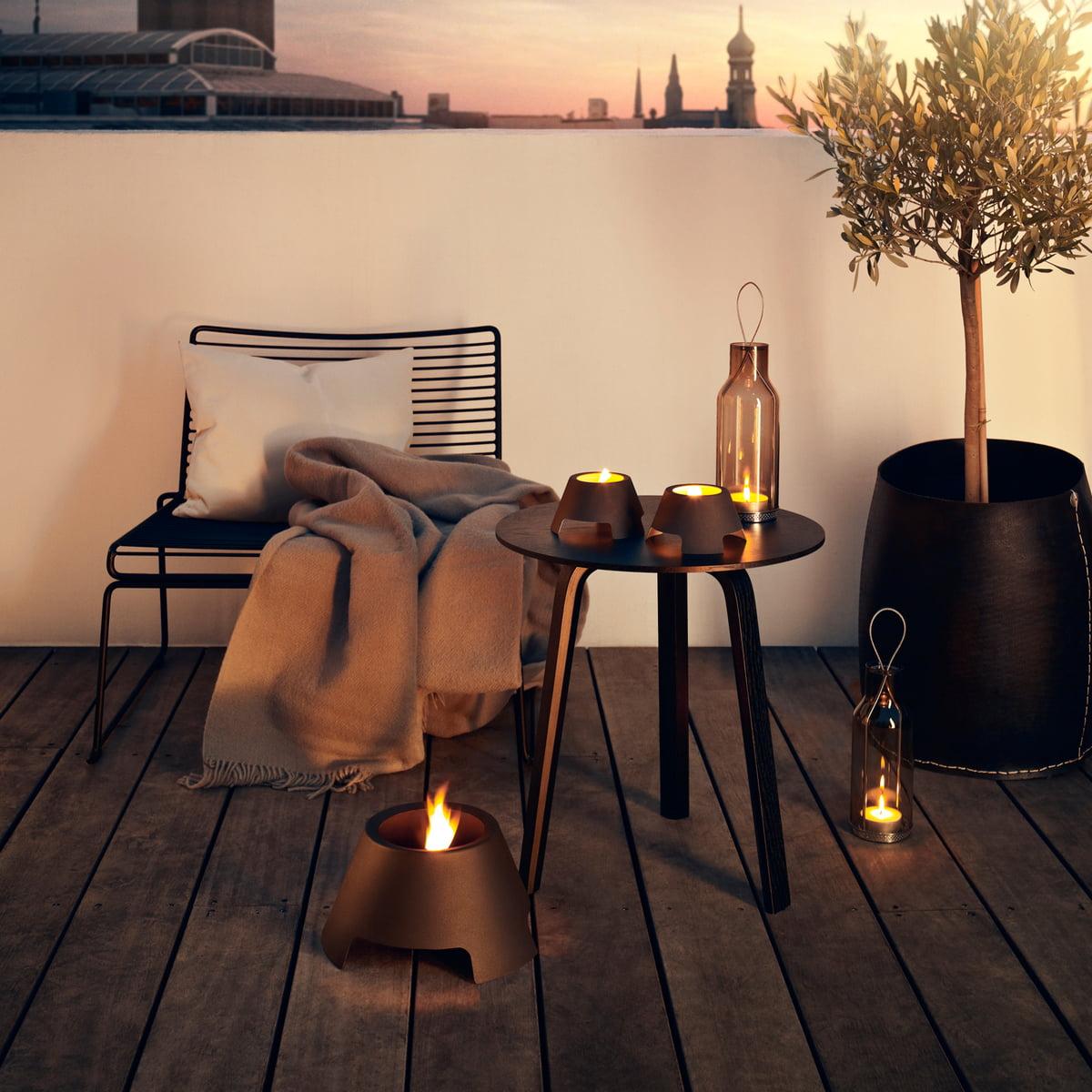 glaslaterne von eva solo bei. Black Bedroom Furniture Sets. Home Design Ideas