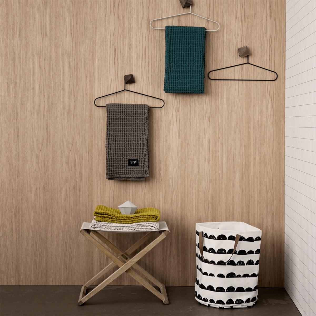 handtuch von ferm living bei. Black Bedroom Furniture Sets. Home Design Ideas