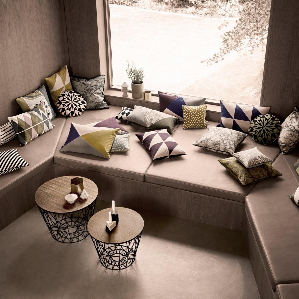 striped kissen von ferm living. Black Bedroom Furniture Sets. Home Design Ideas