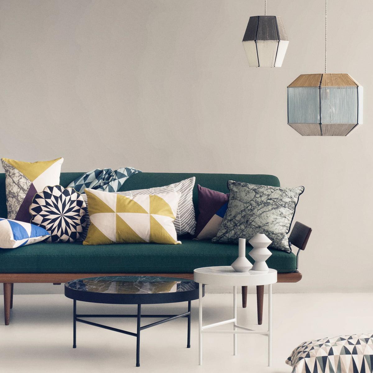 marble table von ferm living bei. Black Bedroom Furniture Sets. Home Design Ideas