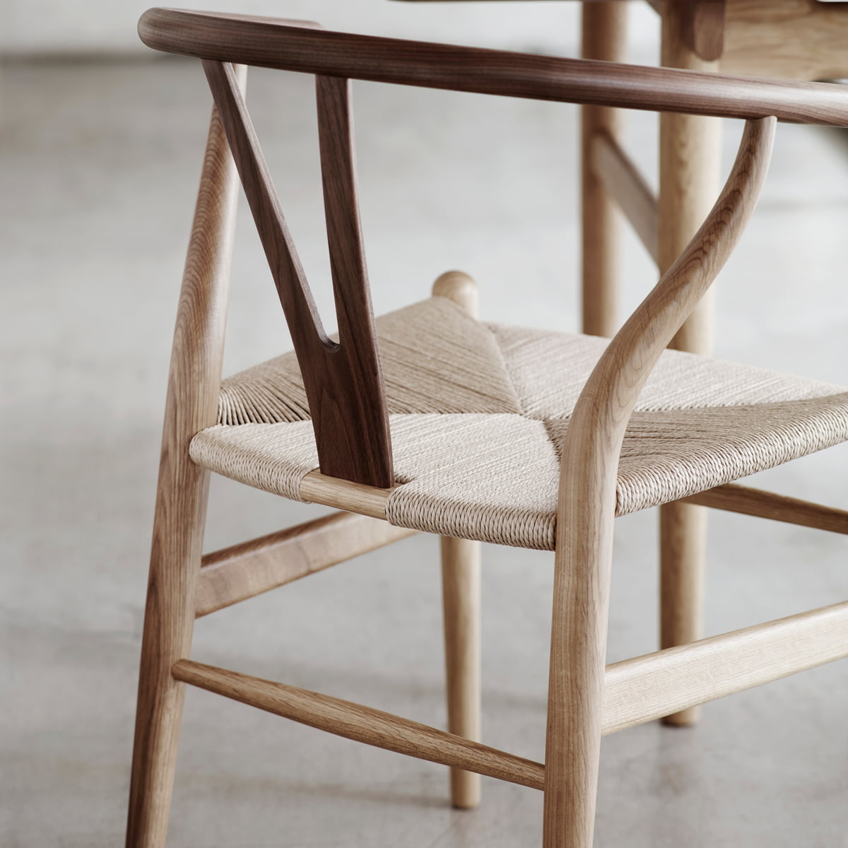 Gut CH24 Wishbone Chair Von Carl Hansen