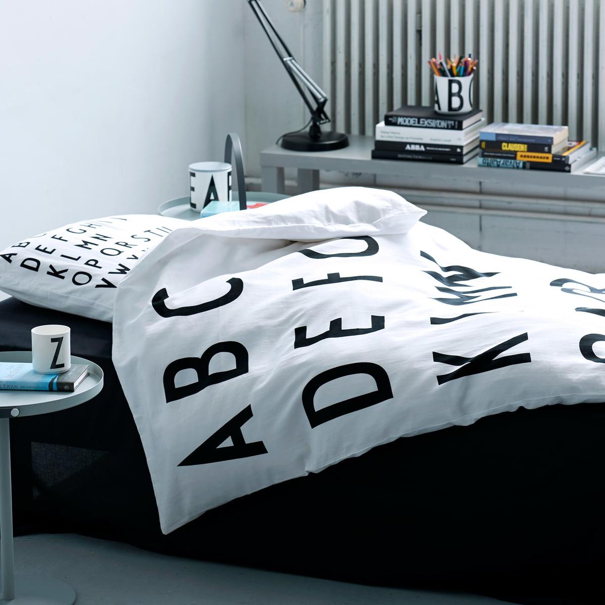 Abc Bettwäsche Von Design Letters Bei Connoxch