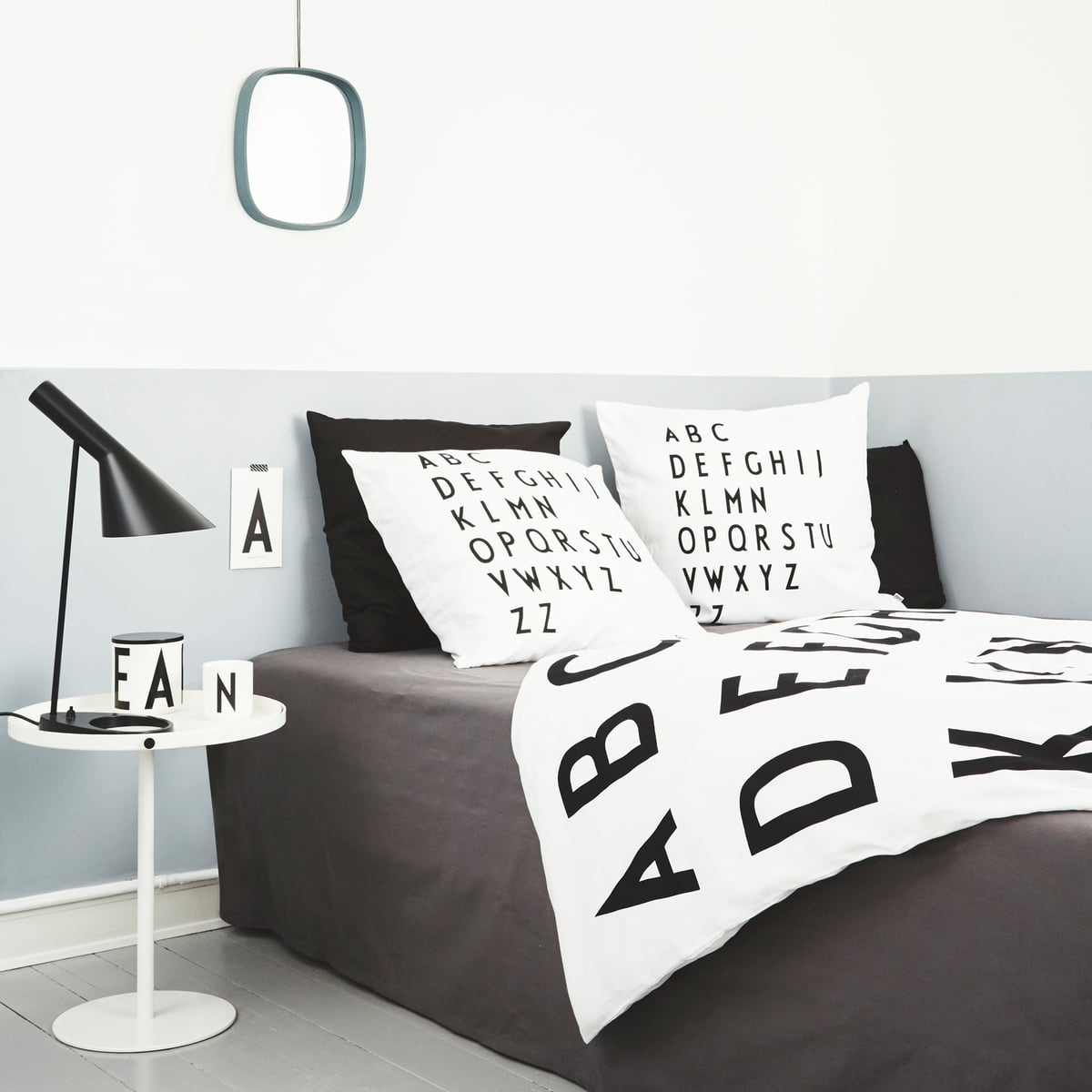 abc bettw sche von design letters bei. Black Bedroom Furniture Sets. Home Design Ideas