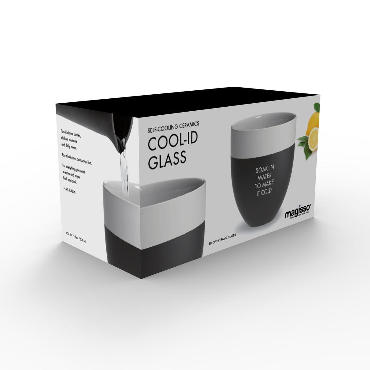Magisso Cool ID Wasserglas 2er Set Verpackung