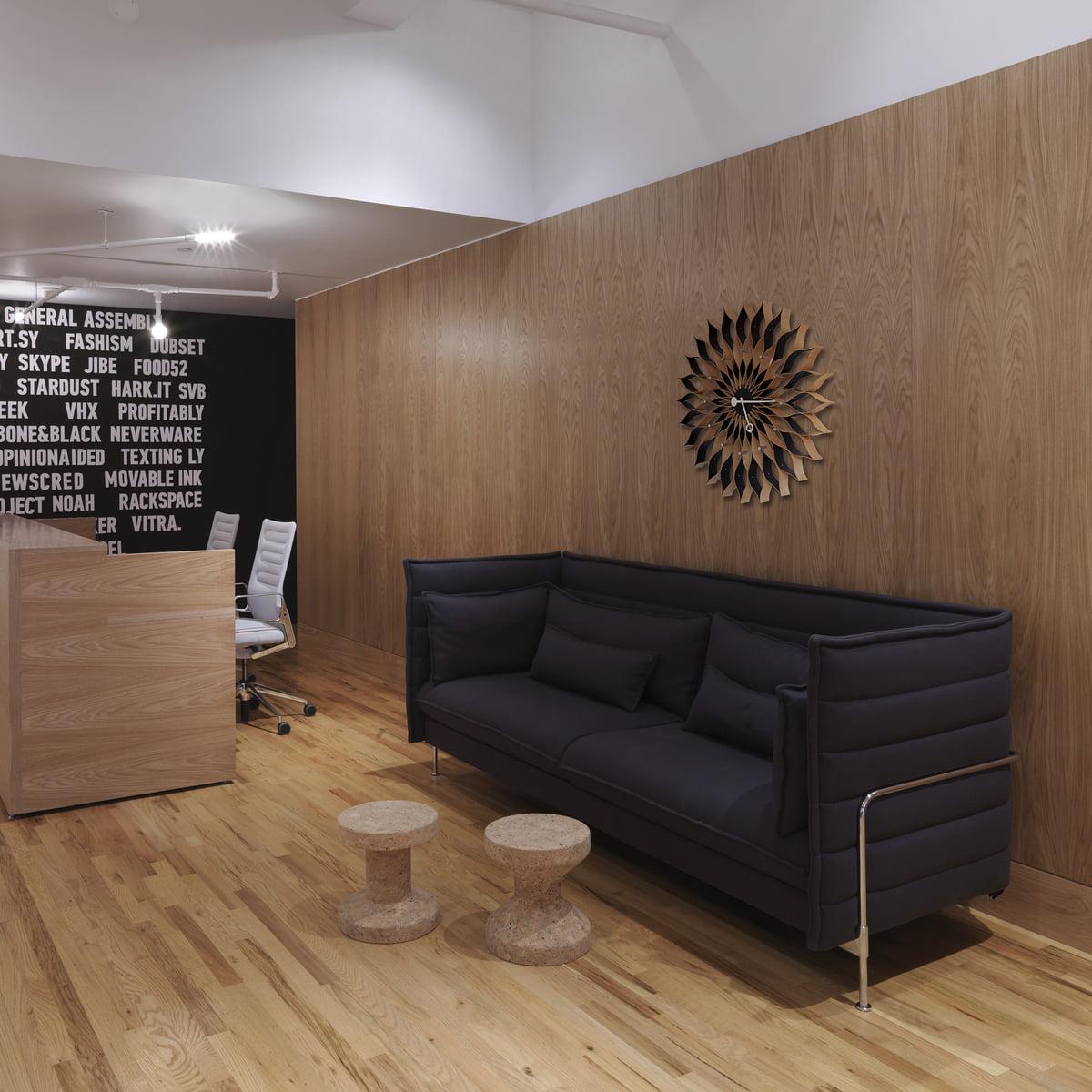 alcove plume sofa von vitra bei. Black Bedroom Furniture Sets. Home Design Ideas