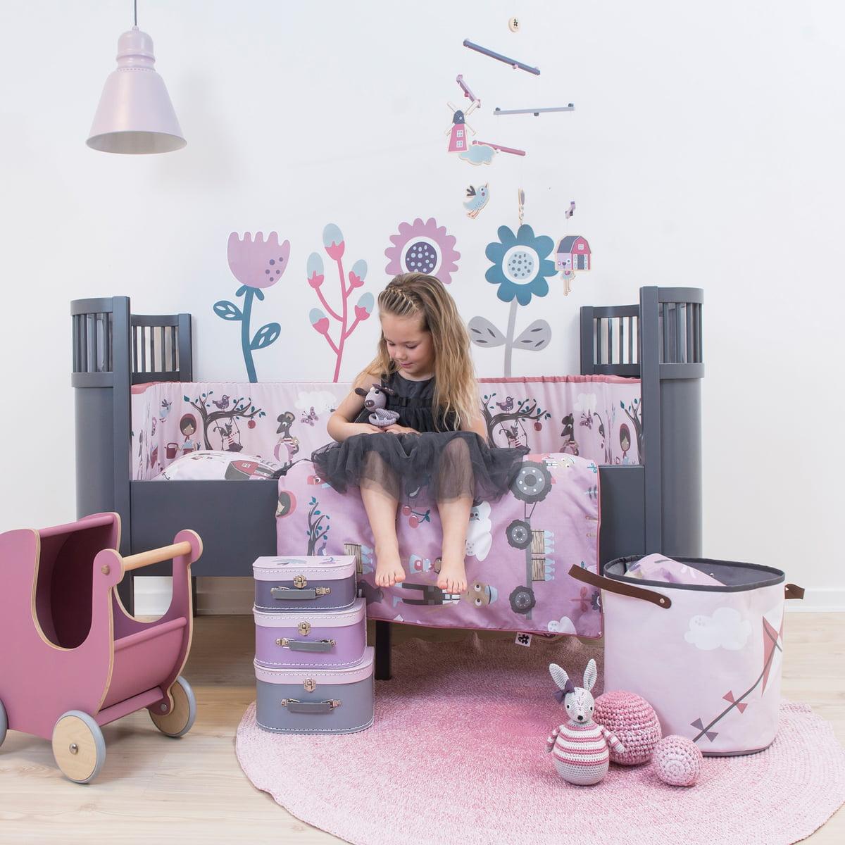 aufbewahrungskorb farm von sebra bei. Black Bedroom Furniture Sets. Home Design Ideas