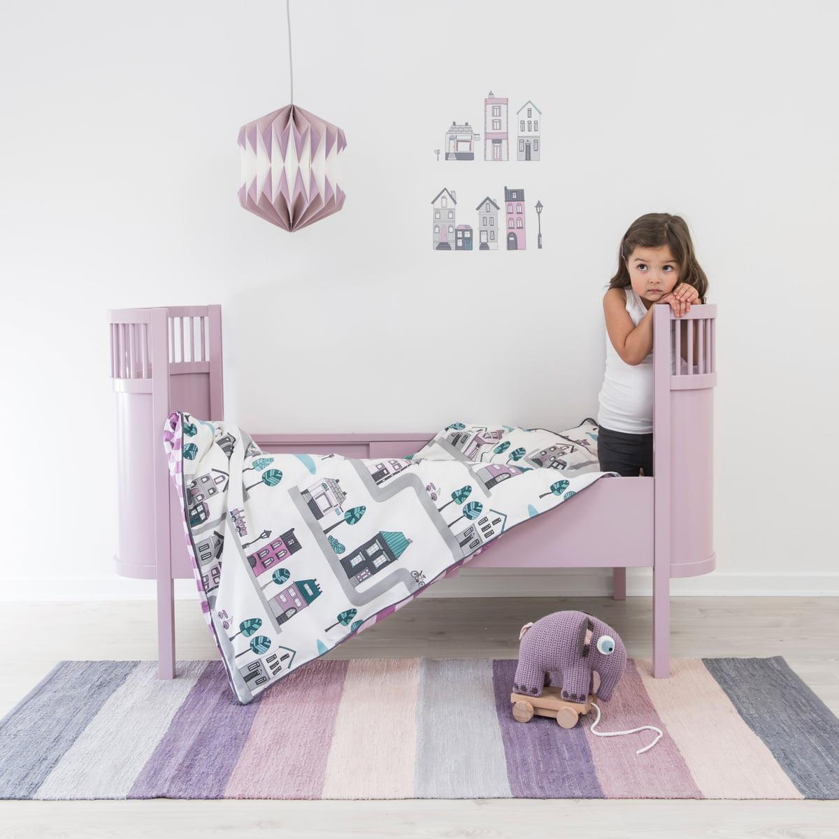 babybettw sche village von sebra bei. Black Bedroom Furniture Sets. Home Design Ideas
