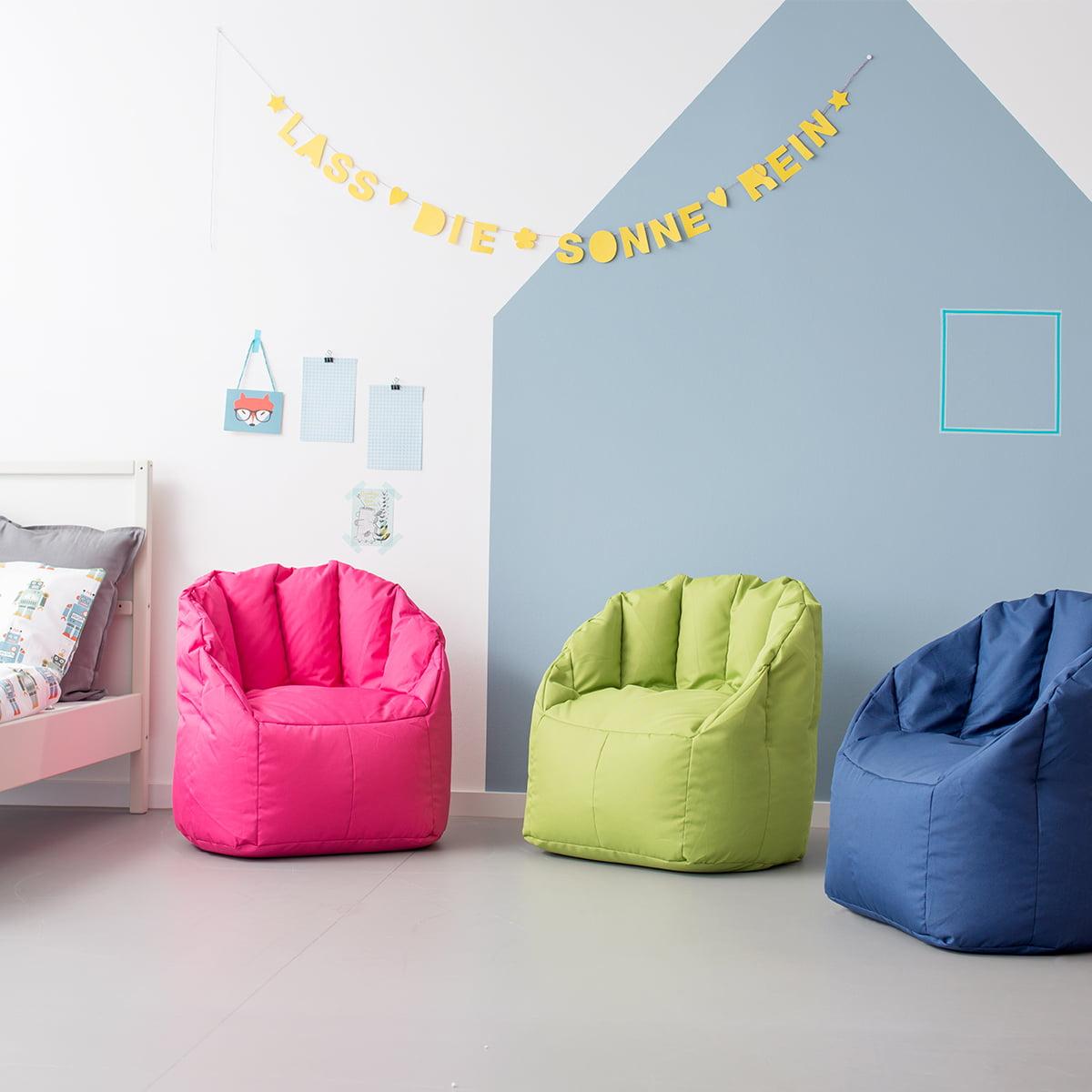 shell kindersitzsack von sitting bull bei. Black Bedroom Furniture Sets. Home Design Ideas