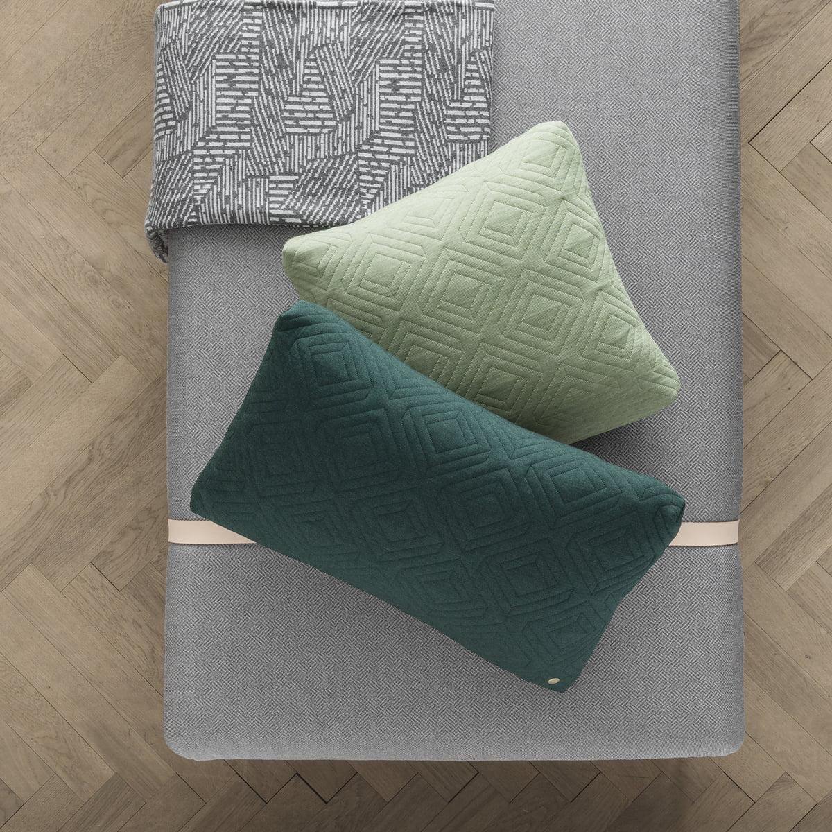 quilt kissen 80 x 50 cm von ferm living bei. Black Bedroom Furniture Sets. Home Design Ideas