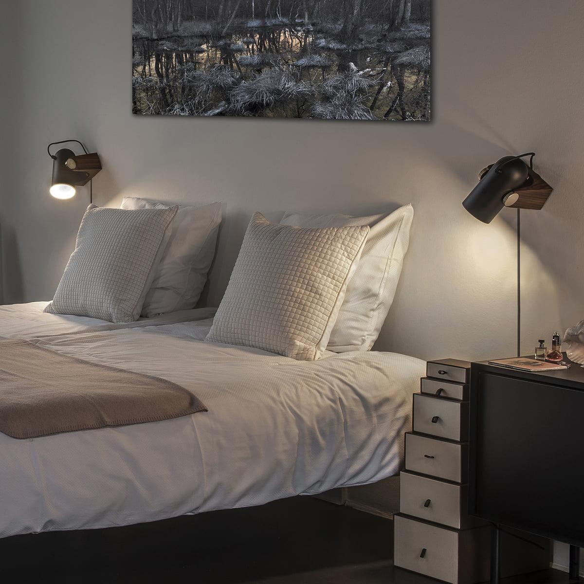 Terren Wandlampen | Terren Wandleuchte Bilder 24 Schlafzimmer Schwarz Gold Modern