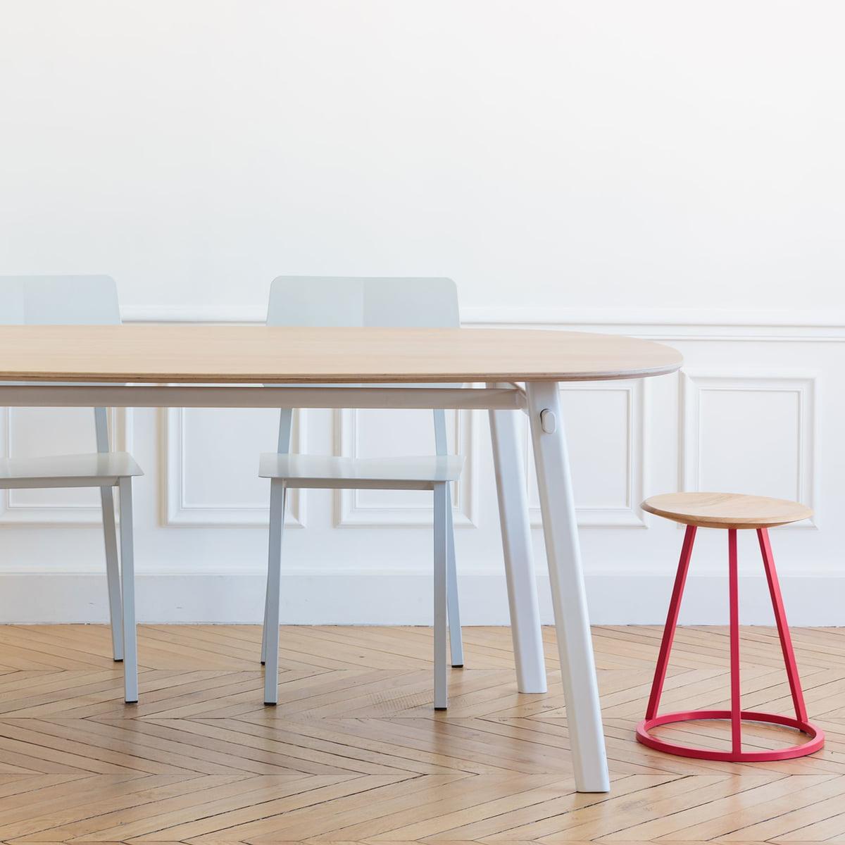 petit gustave hocker von hart bei kaufen. Black Bedroom Furniture Sets. Home Design Ideas
