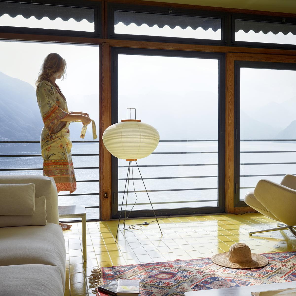 akari 10a stehleuchte von vitra bei. Black Bedroom Furniture Sets. Home Design Ideas