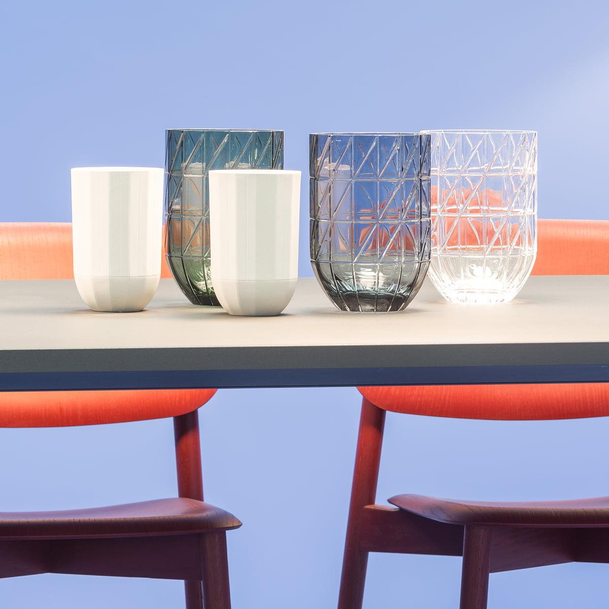 Colour Vase Glasvase von Hay | connox.ch