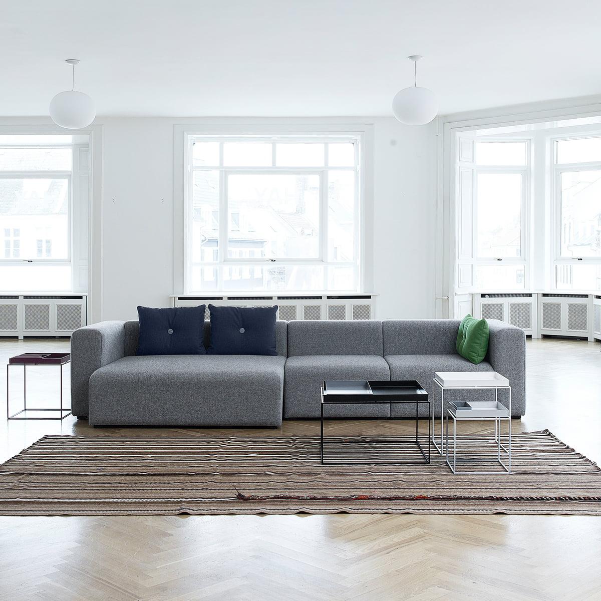 mags sofa module narrow von hay bei. Black Bedroom Furniture Sets. Home Design Ideas