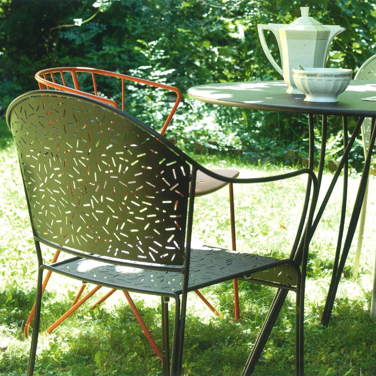 rendez vous tisch von fermob. Black Bedroom Furniture Sets. Home Design Ideas
